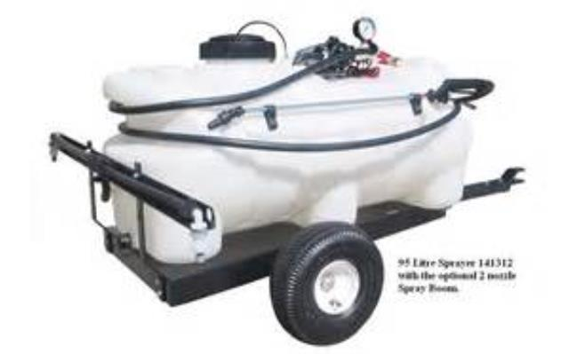 Where to find Sprayer, towable, 40 gal 12v in Port Huron