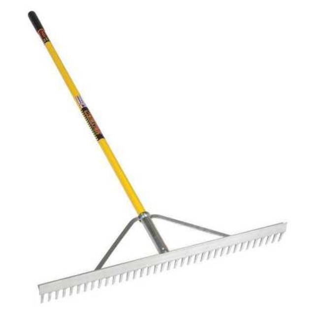Where to find Landscape rake w Handle in Port Huron